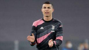 Cristiano Ronaldo en partido