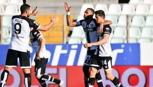 Parma sorprendió a la Roma