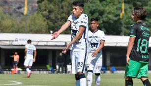 Pumas: Oliver Pérez, de la Sub 20, fue suspendido por lo que resta del Guardianes 2021