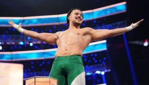 Ángel Garza en un evento de la WWE