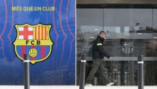 Barcelona fue amenazado con descender