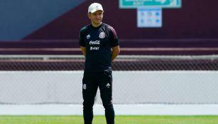 Jimmy Lozano en entrenamiento