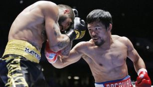 Manny Pacquiao en duelo ante Lucas Matthysse
