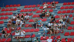 Afición en el Abierto Mexicano de Tenis, en Acapulco