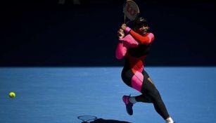Serena Williams en partido de Tenis