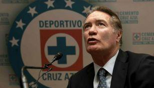 Alberto Quintano como dirigente en Cruz Azul