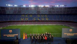 Camp Nou será sede de vacunación contra Covid-19