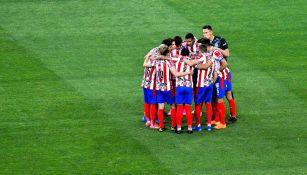 Jugadores de Chivas previo al Clásico Nacional