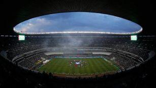 Estadio Azteca en un partido del Tricolor