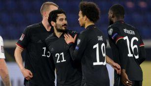 Alemania en festejo de gol