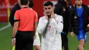 Morata lamenta el empate español