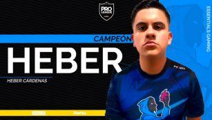 CrackHeber se coronó en la Pro League Series de PlayStation 4