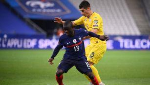 Francia: N'Golo Kanté se lesionó y es baja para el resto de la Fecha FIFA