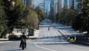 Santiago de Chile puesto en cuarentena