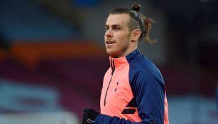 Gareth Bale durante un partido con Tottenham