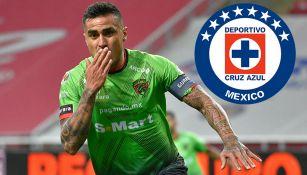 Dario Lezcano: 'Si me toca jugar en Cruz Azul, estaré contento'