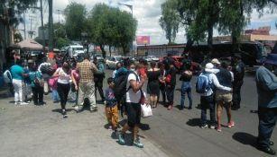 Inconformes tomaron la Calzada Zaragoza
