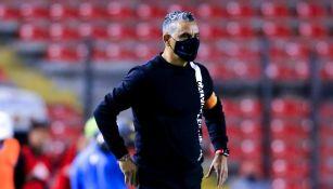 Pity Altamirano en el partido vs Tigres