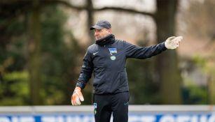 Zsolt Petry, entrenador de porteros del Hertha Berlín