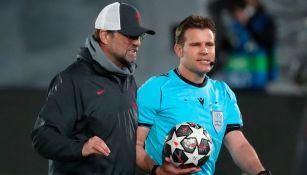 Jürgen Klopp: 'Le dije al árbitro que fue injusto, pero él no perdió el partido'