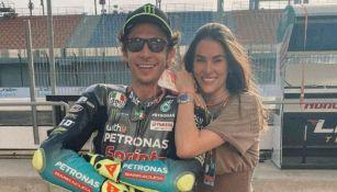Valentino Rossi y su novia