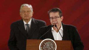 Jenaro Villamil en conferencia de prensa