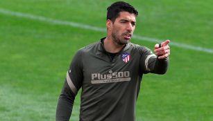 Atlético de Madrid: Luis Suárez sufre lesión muscular en la pierna izquierda