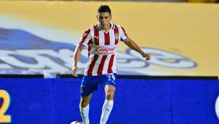 Eduardo Torres durante un partido con Chivas