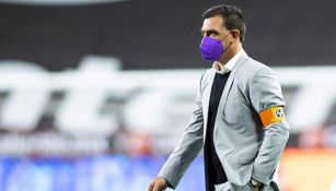 Pablo Guede en derrota ante Mazatlán