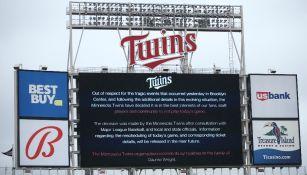 MLB: Juego entre Boston y Minnesota suspendido por muerte a manos de la policía