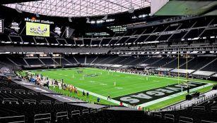 Panorámica del Allegiant Stadium de los Raiders
