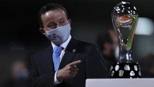 Mikel Arriola en la Final del Guard1anes 2020 Torneo de Apertura