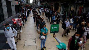La Ciudad de México no prevé tercera ola de contagios