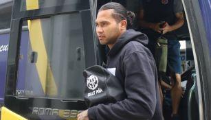 Gullit Peña, jugador del Club Deportivo FAS de El Salvador