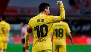 Lionel Messi: 'Es muy especial ser el capitán de este club; es una Copa muy especial'