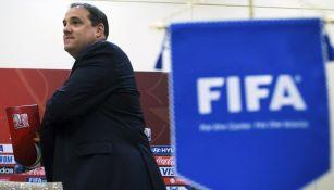 Victor Montagliani en un evento de FIFA