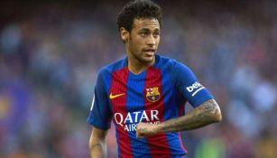 Neymar en partido con Barcelona