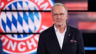 Karl-Heinz Rummenigge, presidente del Bayern Munich