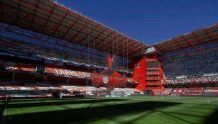 Panorámica del Estadio Nemesio Diez sin público