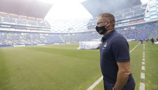 Andrés Lillini en el Puebla contra Pumas