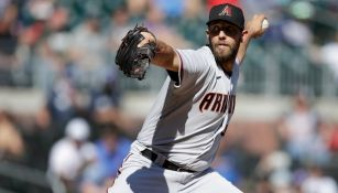 MLB: Madison Bumgarner lanzó juego sin hit no oficial en victoria de Arizona sobre Atlanta