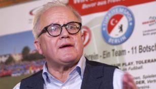 Fritz Keller, presidente de la DFB