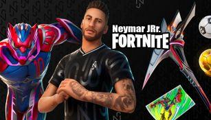 Skin de Neymar es presentado en Fortnite