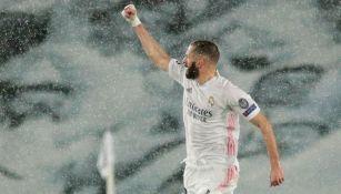 Karim Benzema: Igualó a Raúl González como cuarto máximo goleador de Champions
