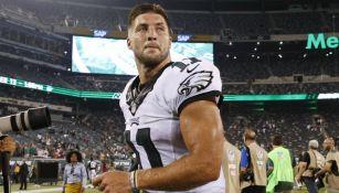 NFL: Tim Tebow entrena como ala cerrada con Jacksonville