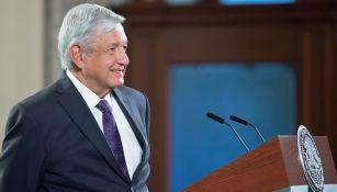 López Obrador en conferencia de prensa matutina