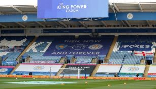 Estadio del Leicester City previo a un duelo de Premier League
