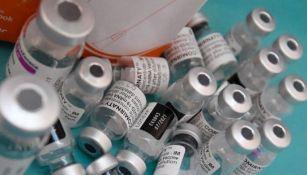 Frascos de vacuna contra Covid-19