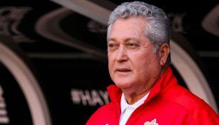 Vucetich en el partido de Chivas