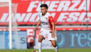 Fernando Beltrán durante un partido con Chivas